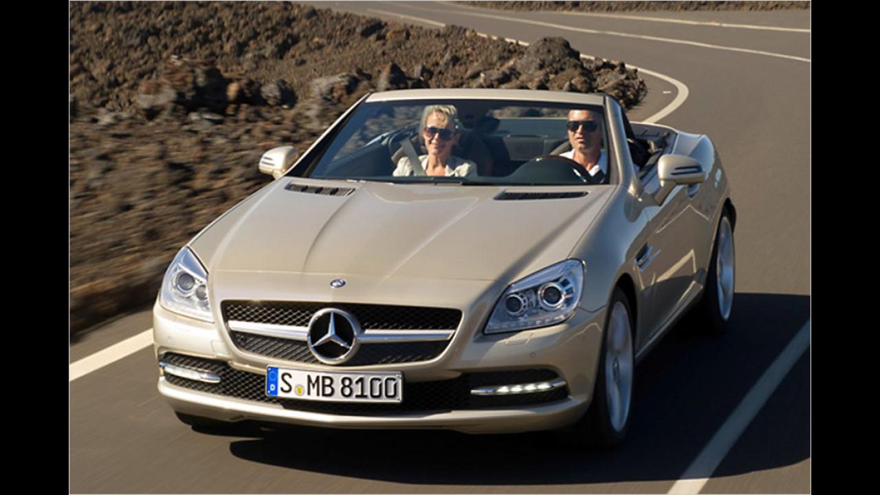 Top: Mercedes SLK, Baujahr 2012, 56 Standtage