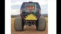 Monster-Truck als ,Reisebus