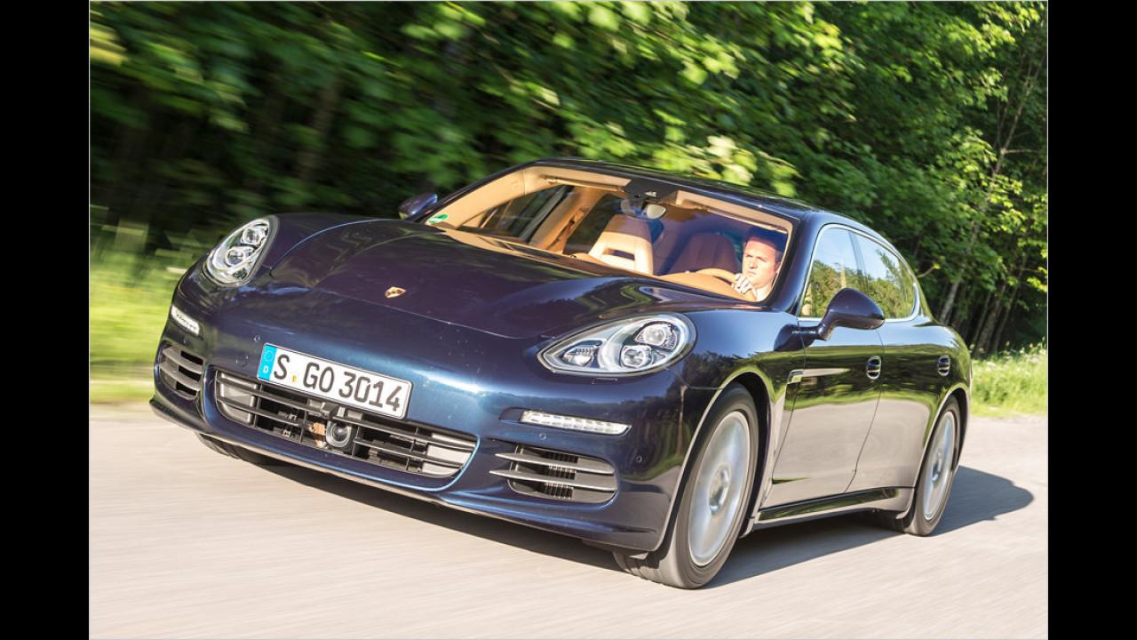 Chauffeurs-Porsche