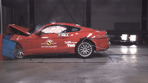Ford Mustang 2017 Euro NCAP crash test