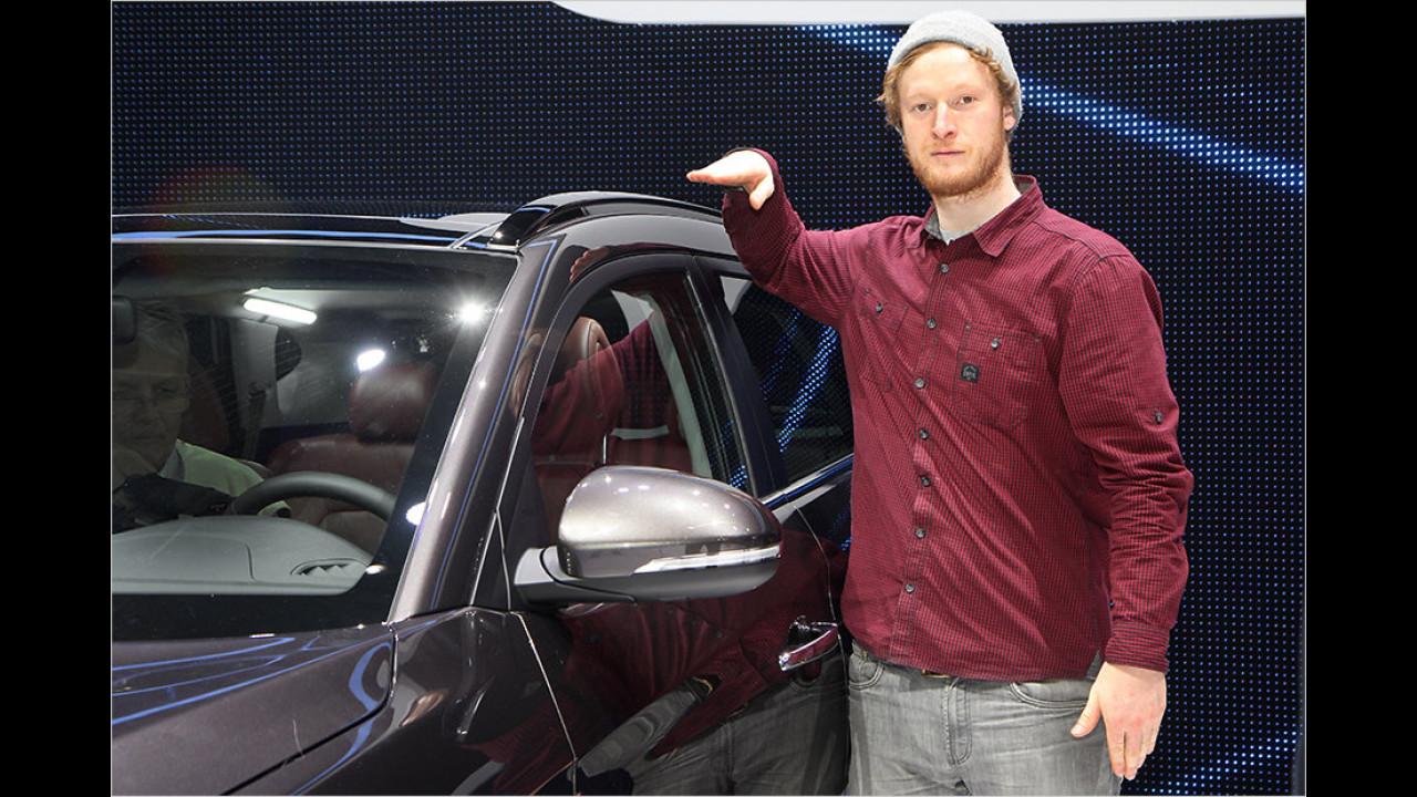 Erstkontakt mit dem neuen Hyundai Tucson