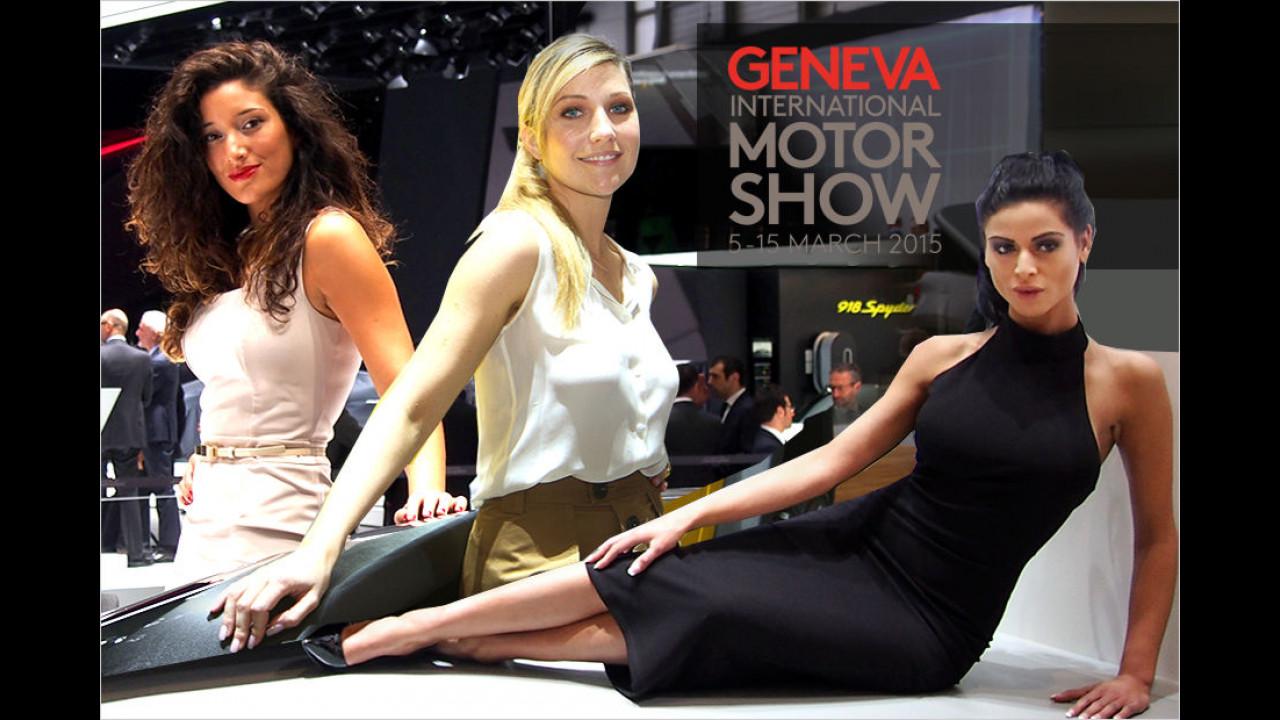 Genf 2015: Die heißesten Salon-Löwinnen