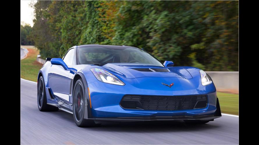 Neue Corvette Z06 sprintet in drei Sekunden auf Tempo 100