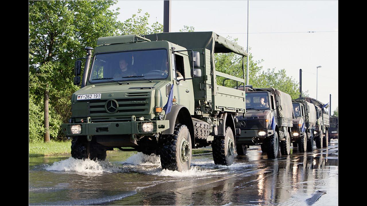 Die Bundeswehr und der Unimog
