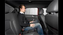 Sitzprobe im A1 Sportback