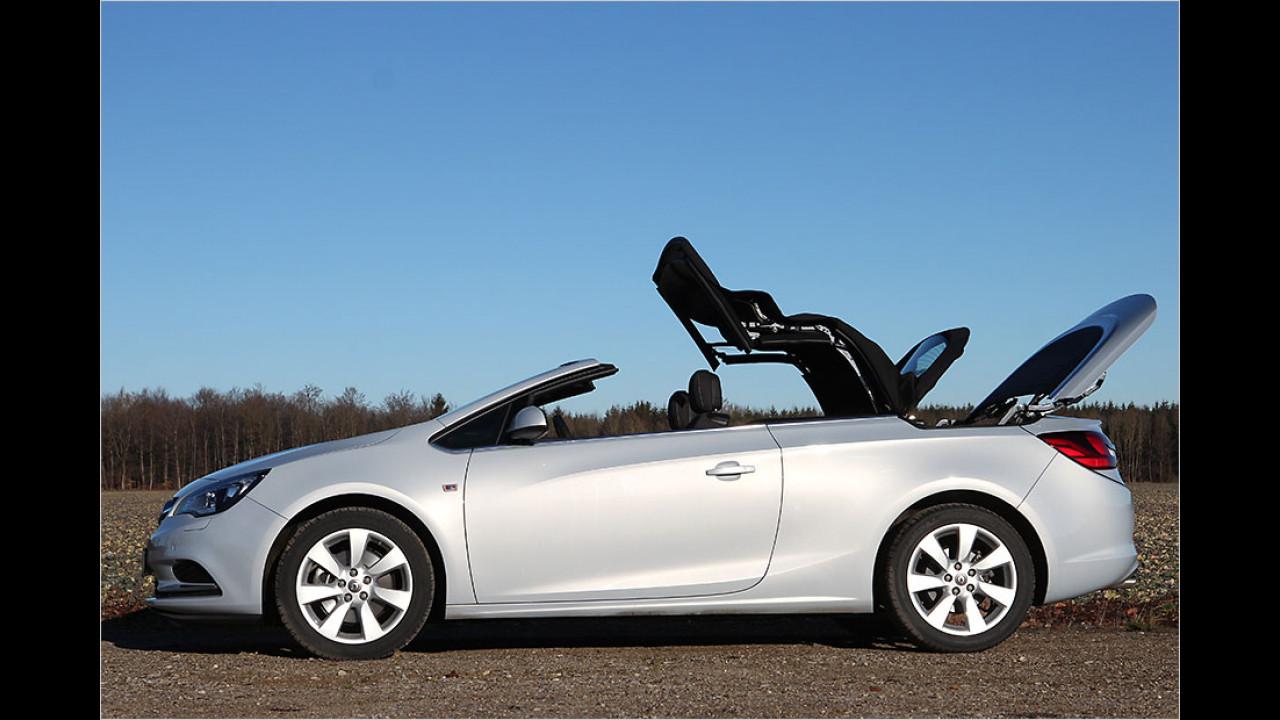 Opel Cascada (16 Sekunden, bis 50 km/h)