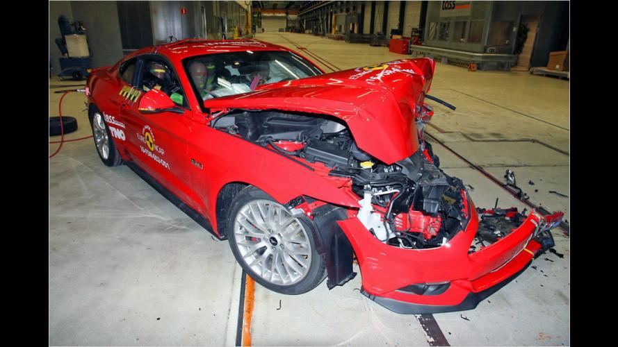Ford Mustang: Besser, aber nur drei Sterne