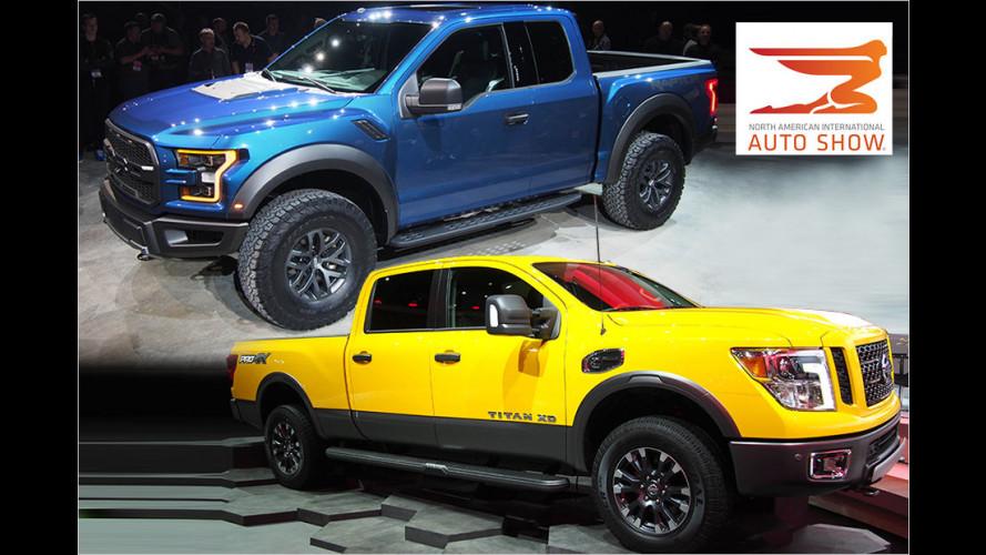 Die neuesten Pick-ups von der Automesse in Detroit