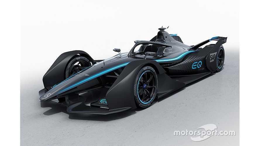 Mercedes-Benz Reveals Formula E Concept Livery