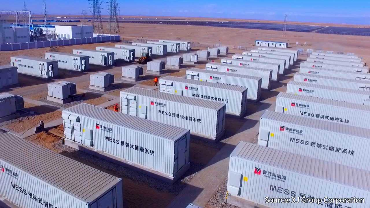 CATL Delivered China's Largest 100 MWh Battery Energy Storage