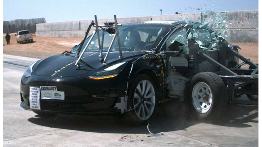 NHTSA On Tesla Model 3: Lowest Probability Of Injury Of Any Tested Vehicle