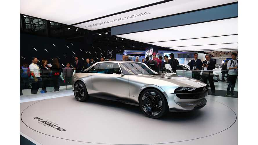 Peugeot e-LEGEND Concept: Paris Motor Show Video Roundup