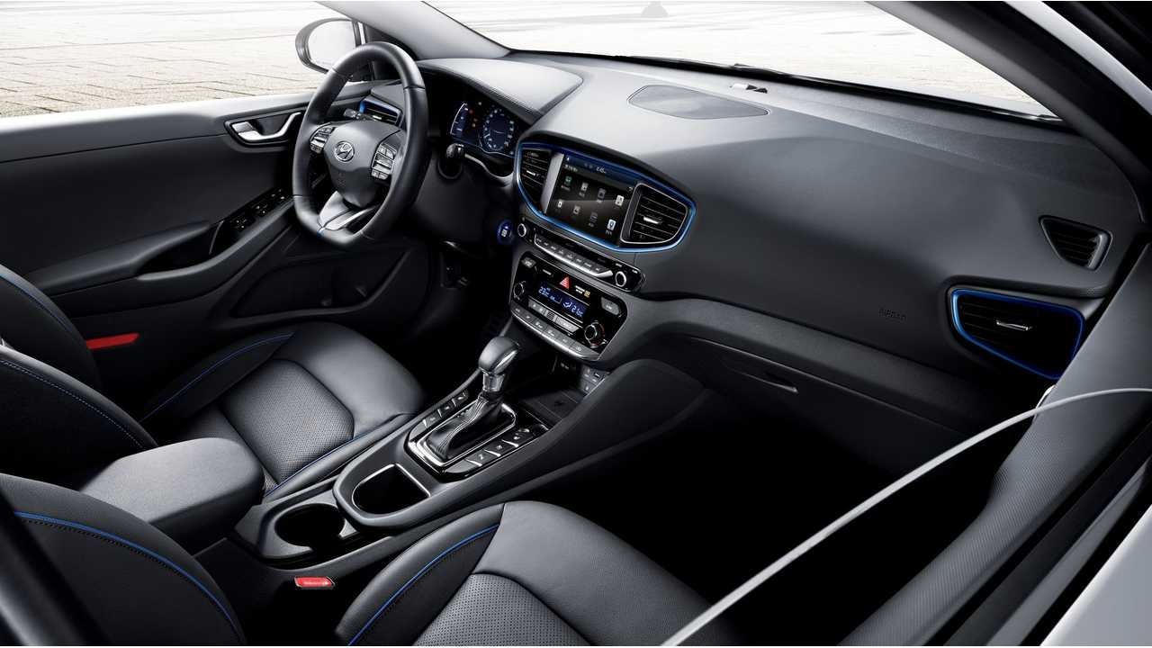 Optional Premium Leather And Sunroof Available On Hyundai IONIQ Electric