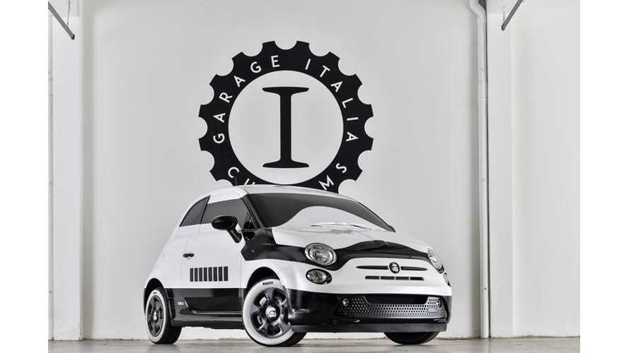 "Fiat 500e ""Star Wars: The Force Awakens"" Stormtrooper Edition Debuts In LA"