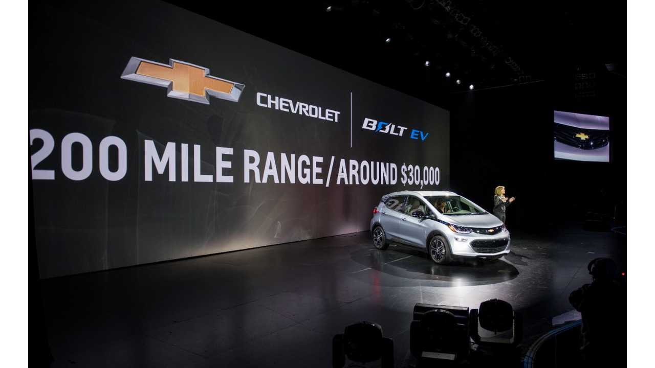 GM CEO Mary Barra: We're Really Excited About the New Bolt EV (Video)
