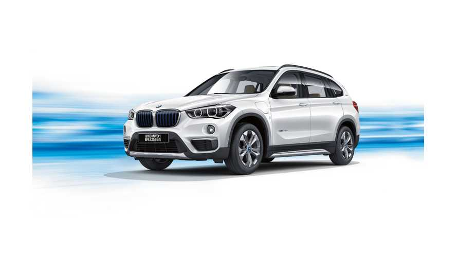 BMW Unveils X1 xDrive25Le iPerformance Plug-In Hybrid In China