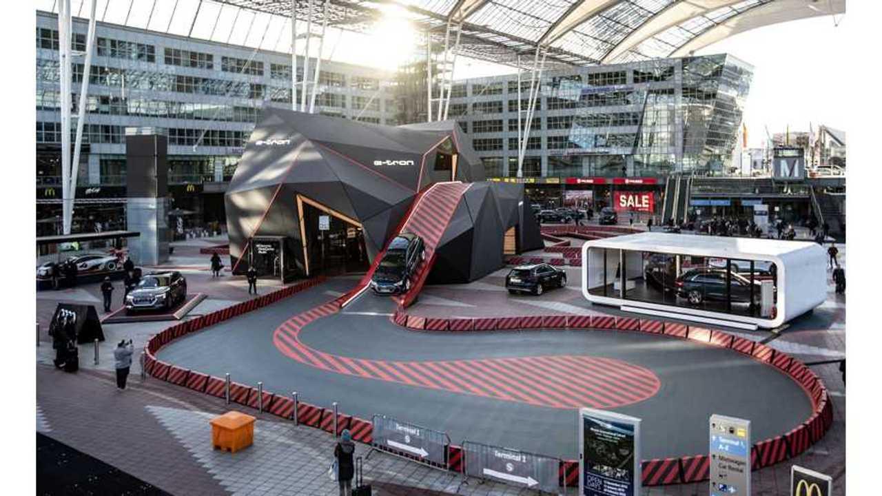 Audi E-Tron Meteorite Showcases Electric SUV In Munich