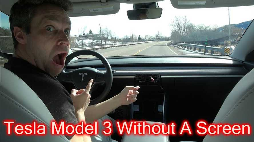Can You Drive a Tesla Model 3 WITHOUT A Screen?!