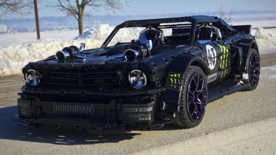 Lego Hoonicorn Mustang Is Most Insane Custom Technic Build Ever