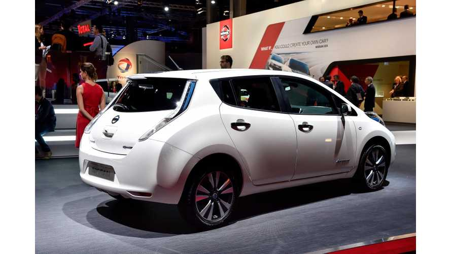Nissan Gains Momentum in Europe; Over 28,000 LEAFs Sold