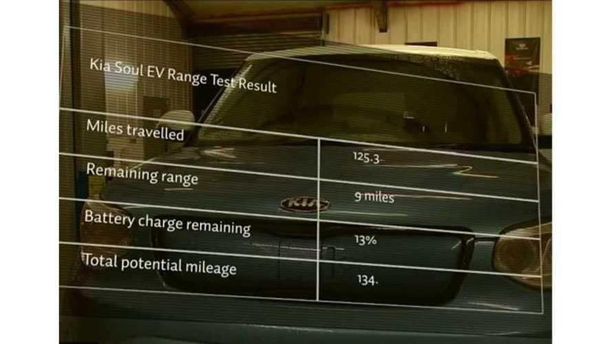 Kia Conducts Soul EV Range Test - Video
