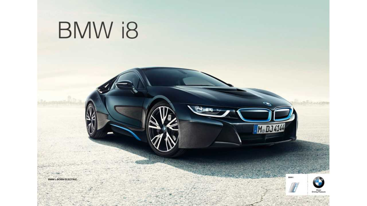 BMW i8 Advertising Budget: $22 Million In First Half Of 2014