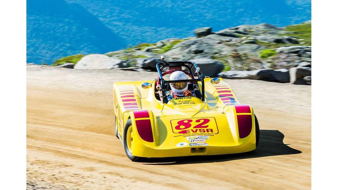New Electric Vehicle Record Set At Mount Washington - Video