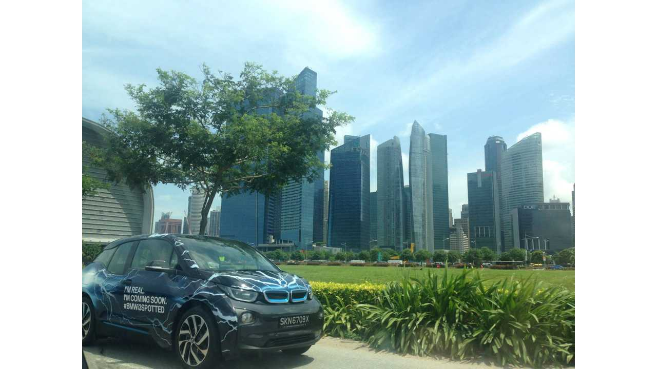 BMW Teams With Greenlots On Singapore's First-Ever Home/Public Charging Network