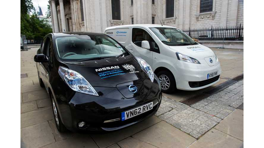 Nissan Offering 10,000 Euro Rebate On LEAF, e-NV200 In France Ahead Of New Program