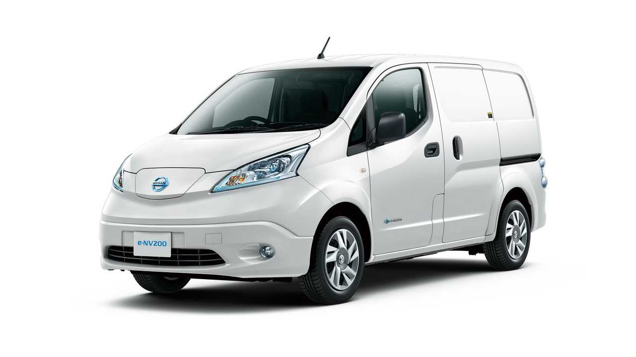 Nissan e-NV200 Featured In Fully Charged