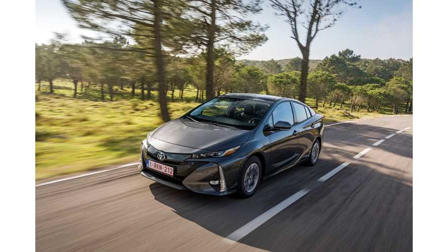 Toyota Sells Lots Of Hybrids In Europe, But PHEVs Are Just A Fraction