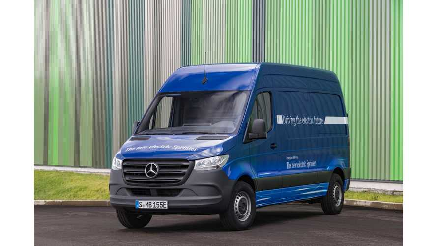 Mercedes-Benz Releases eSprinter Electric Van Specs