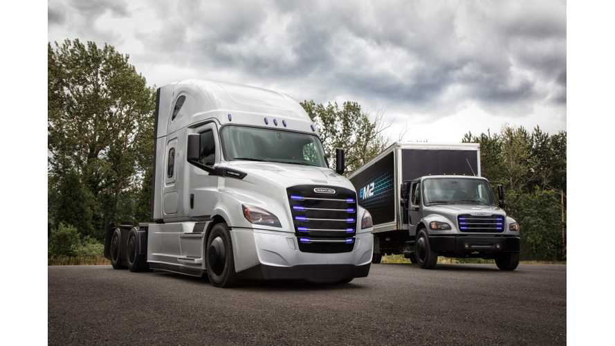Penske & NFI To Begin Tests of Electric Freightliner Later This Year