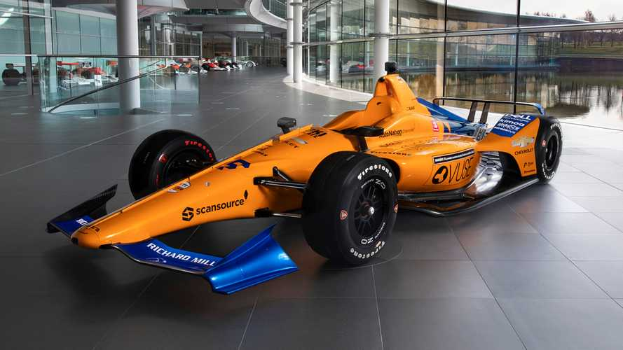 McLaren reveals Alonso's Indy 500 car