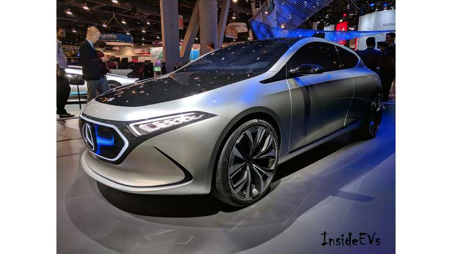 No C Class Electric, Says Mercedes, Expect Sedan EQ Instead