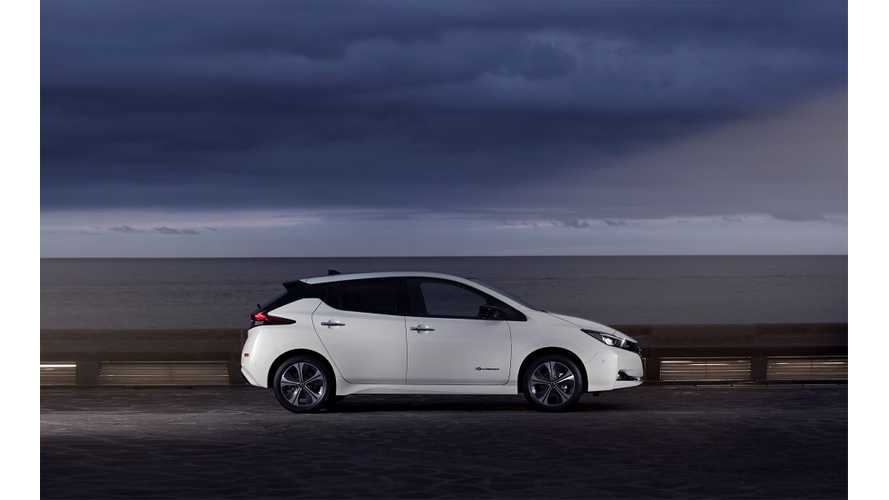 New Nissan LEAF Set To Smash Sales Record In Norway This Month