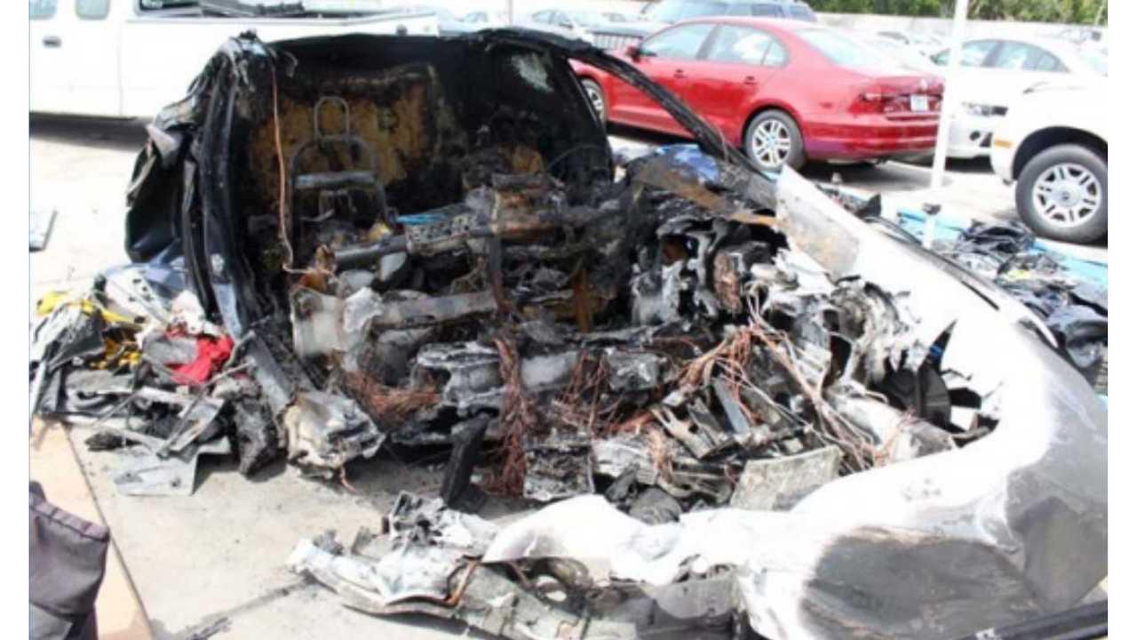 NTSB Report Says Tesla Battery Reignited Twice Following Florida Crash