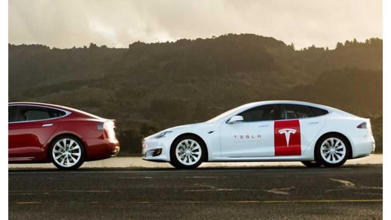 Tesla Showcases Converted Mobile Service Model S: Video