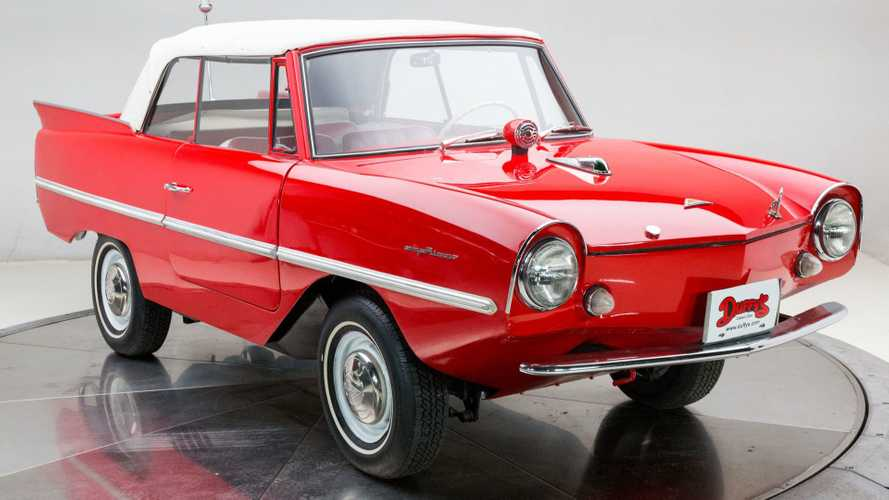 Make New Friends On The Water With This 1962 Amphicar 770