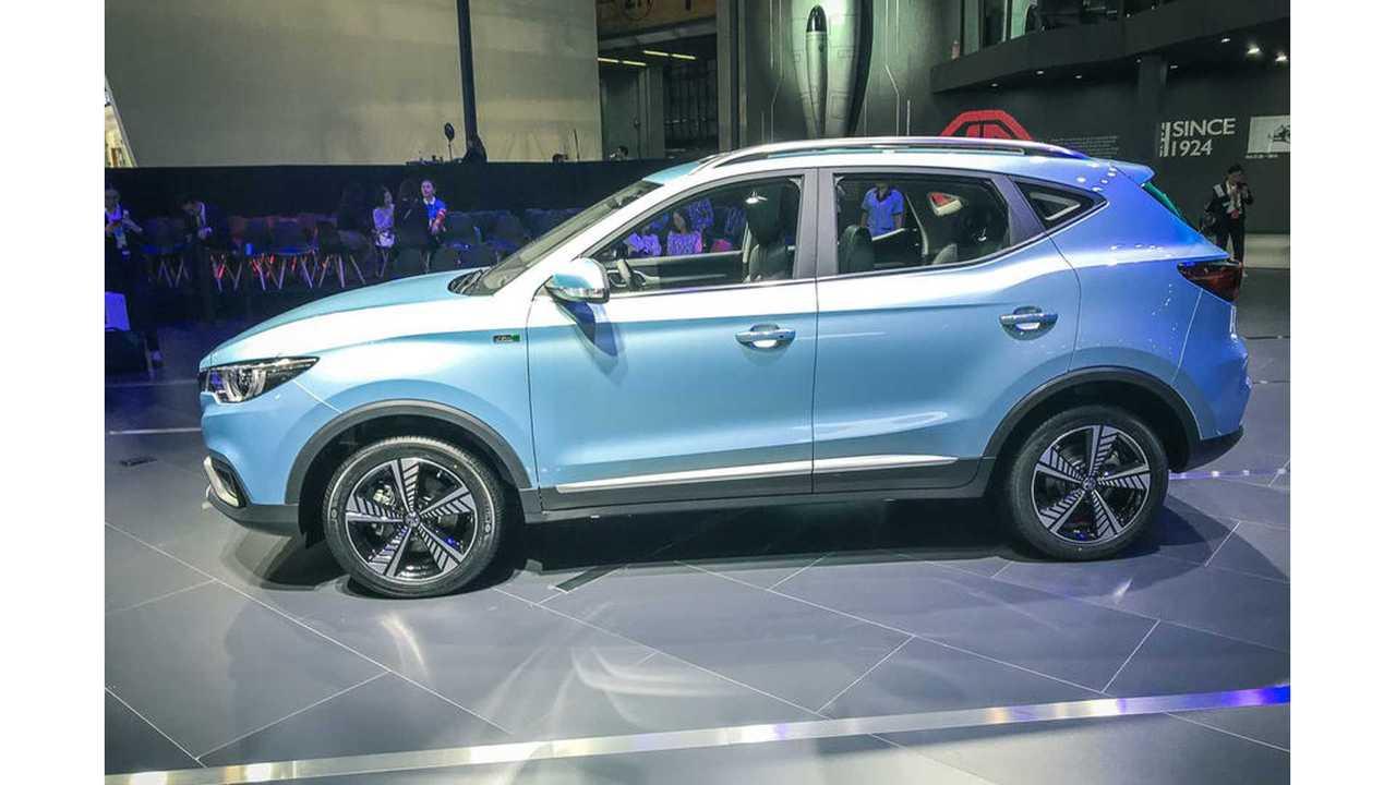 MG Reveals eZS: Brand's First Ever Electric Car