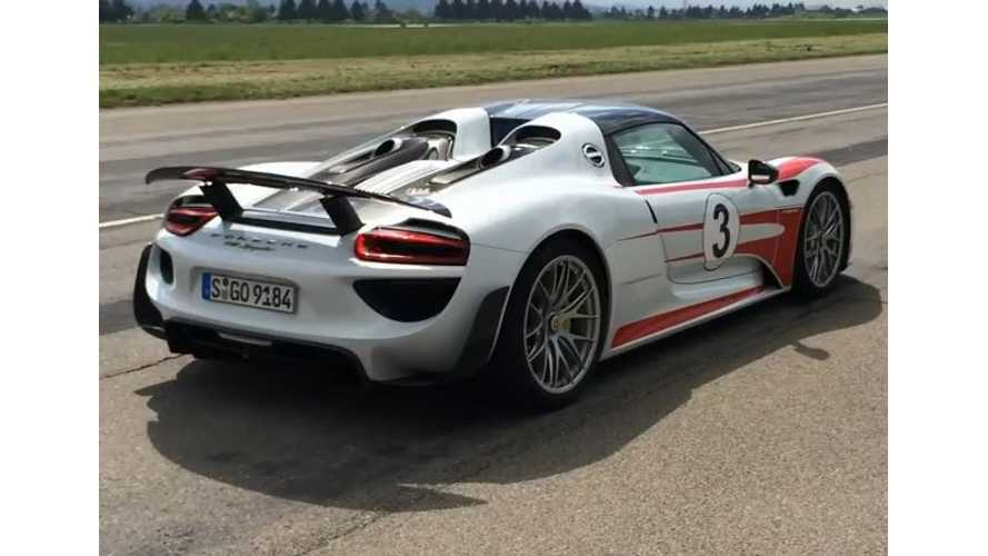 Porsche 918 Spyder Successor Will Seek 6:30 Lap At The 'Ring