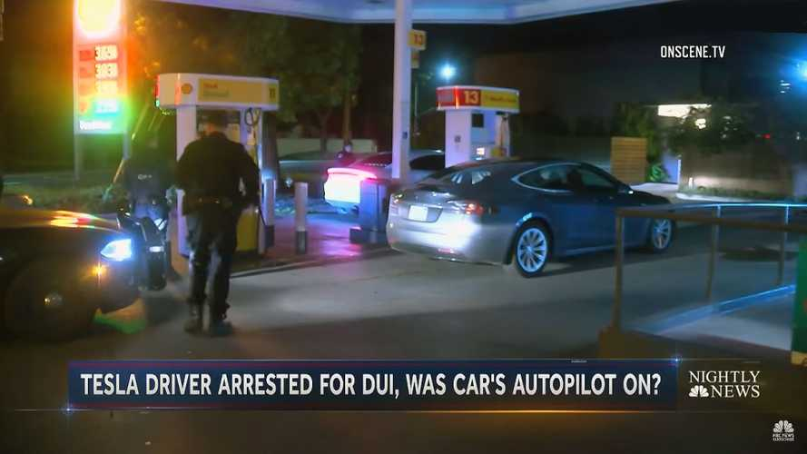 Watch How Cops Use Tesla Autopilot To Stop Alleged Drunk Driver