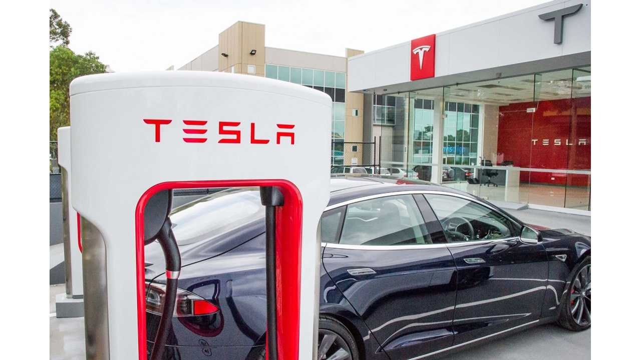 Tesla Superchargers Versus ChargePoint Network