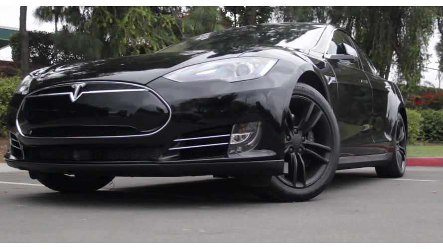 This Family Is Thankful For Its Tesla Model S On Thanksgiving