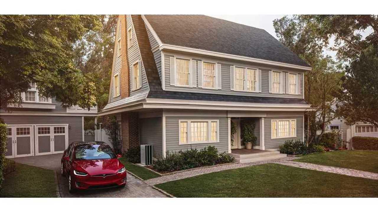 Tesla Patents New Solar Roof Tile Colorization Method