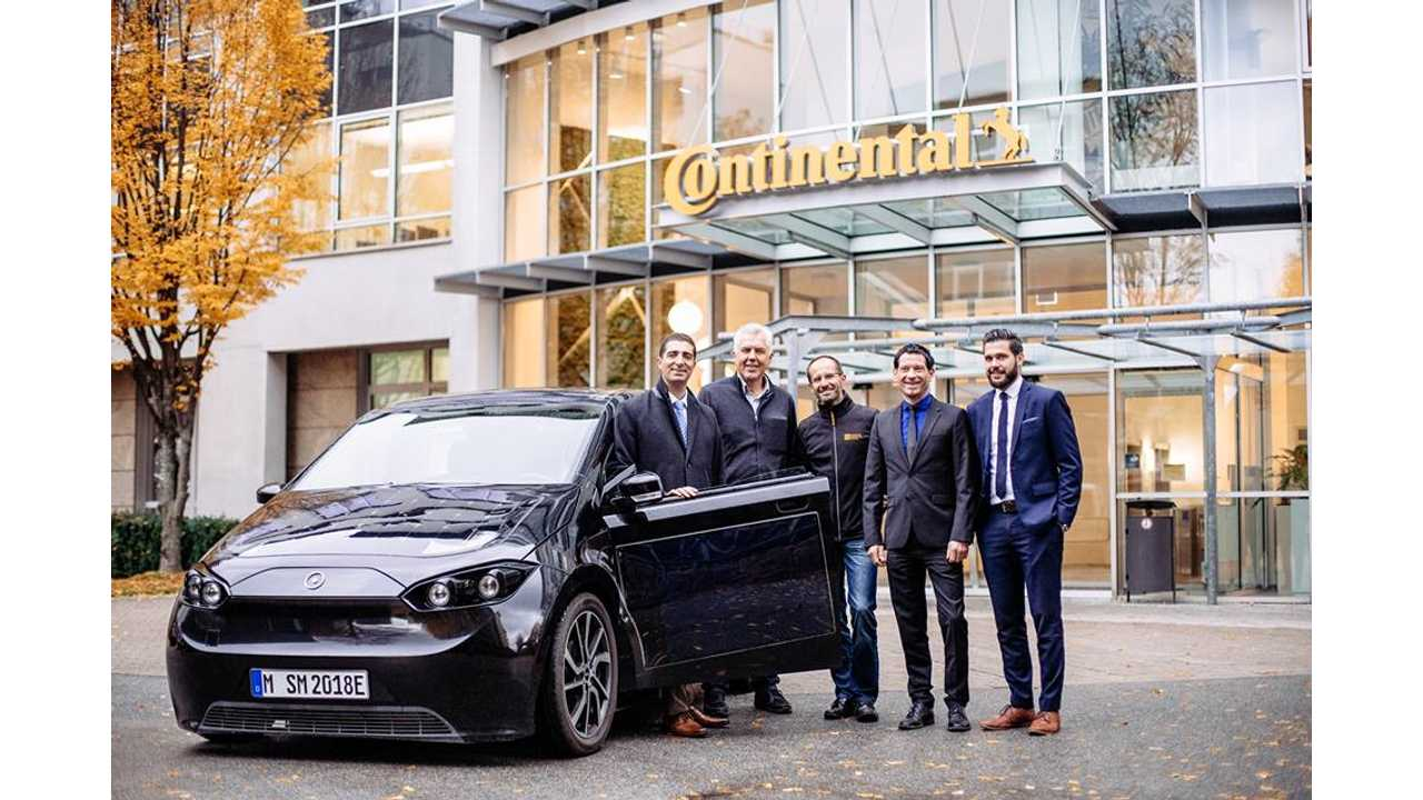 Sono Picks Up Continental Electric Drive Unit For Sion