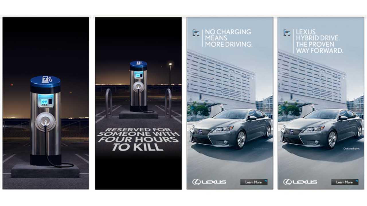 Lexus Defends Anti-EV Ad -  Says