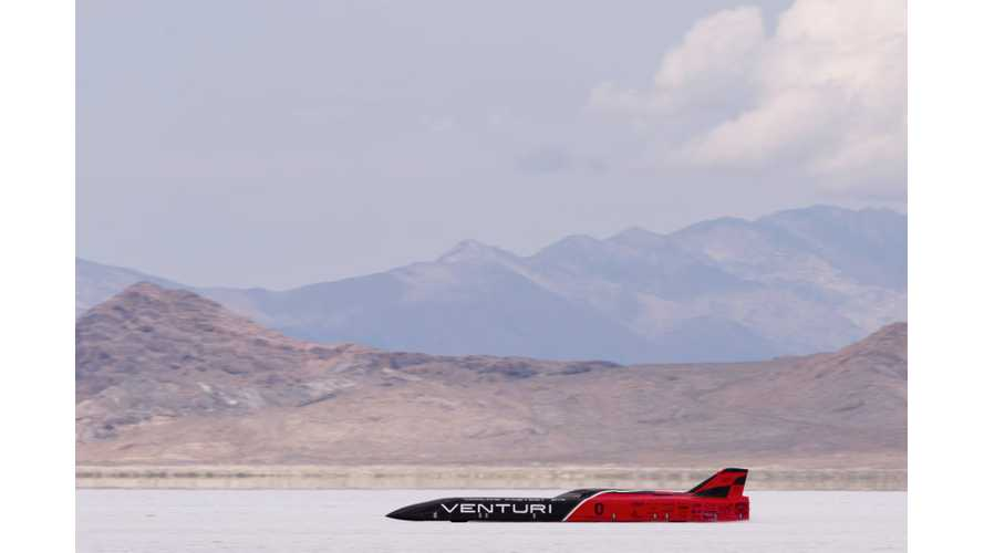 Venturi VBB-3 At Bonneville - Video From First Tests