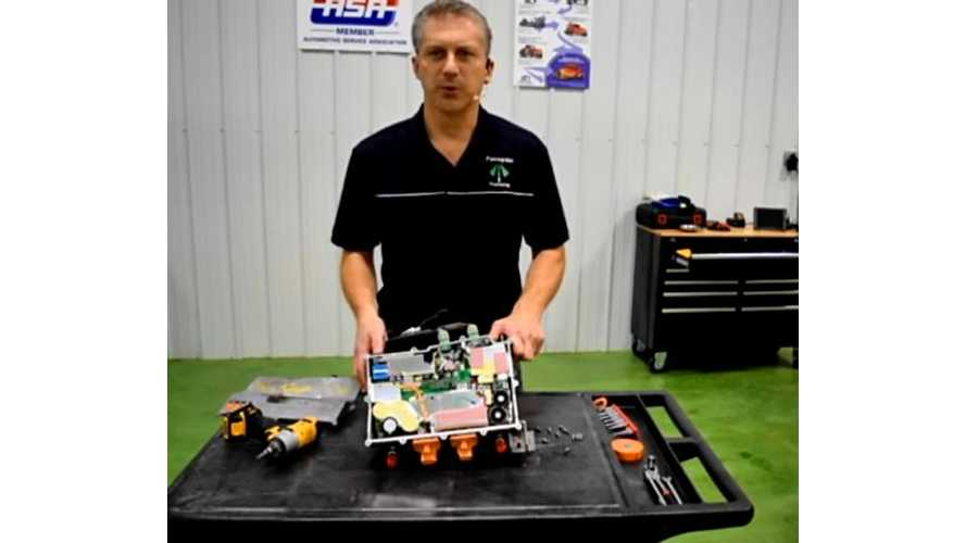 Chevy Volt Onboard Charger Dissection - Video