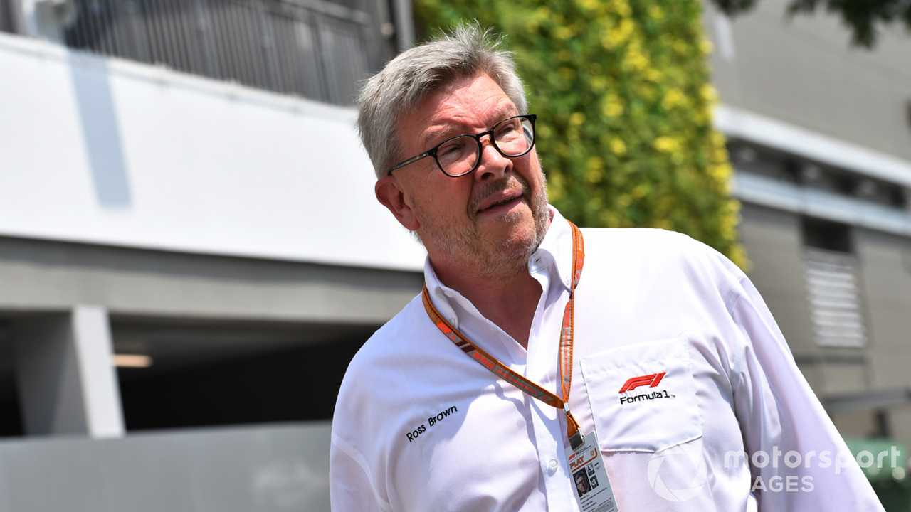 Ross Brawn at Singapore GP 2018